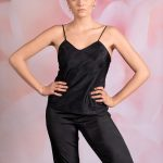 Trouserslips and camisole top